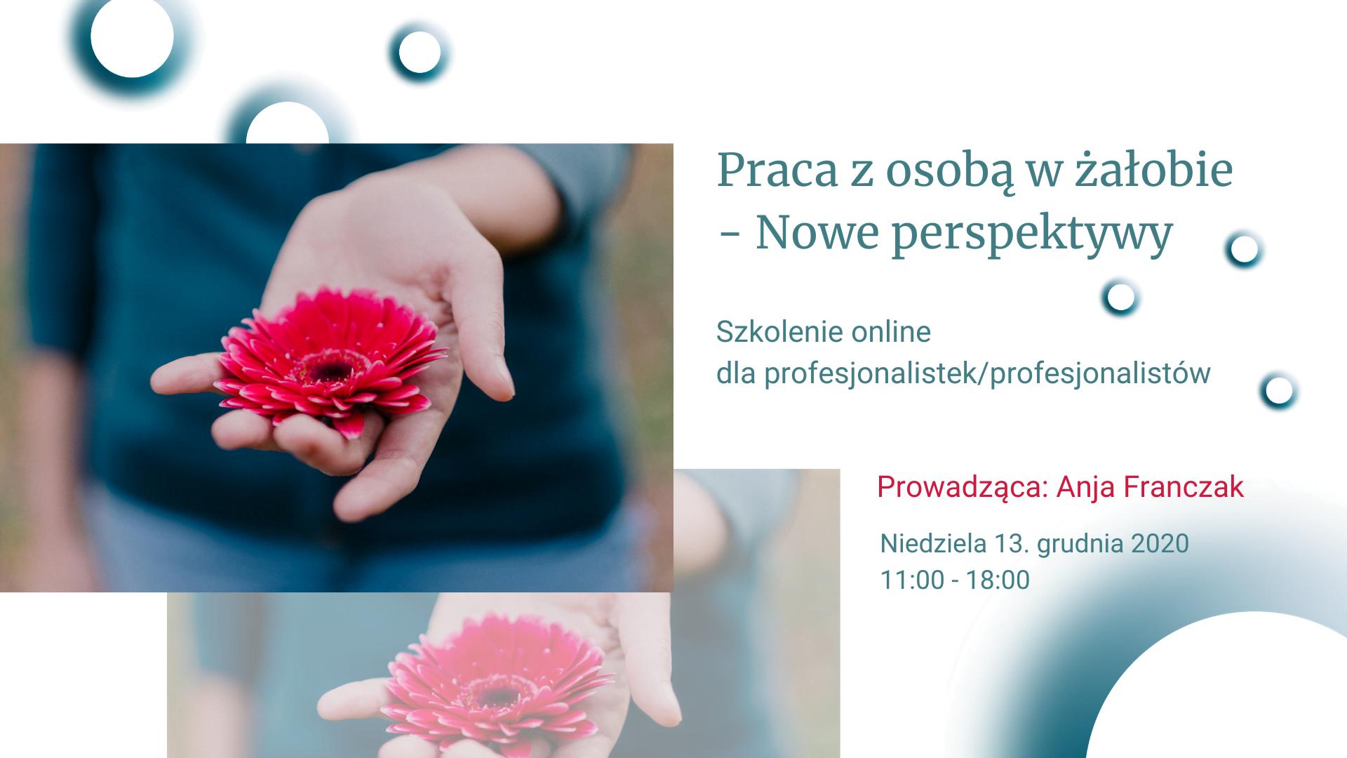 Praca z osobą w żałobie - Nowe perspektywy