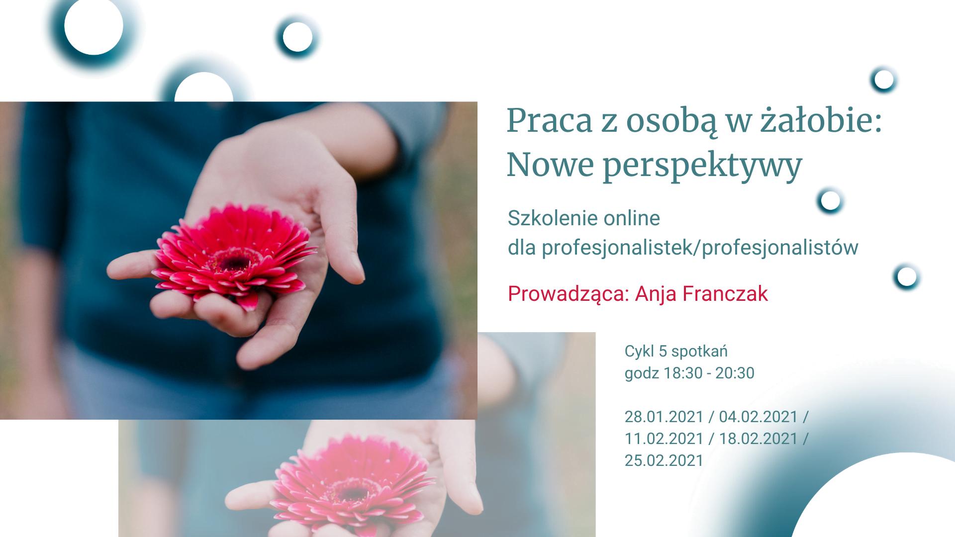 Praca z osobą w żałobie - Szkolenie PRO
