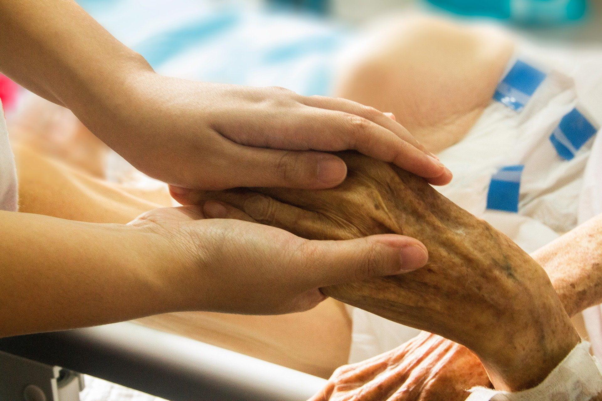 Dłoń pacjenta