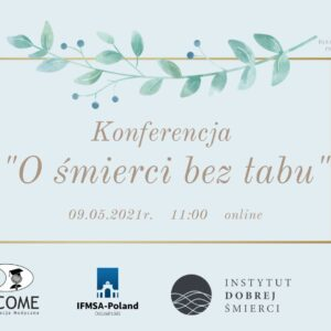 Plakat konferencji Ośmierci beztabu