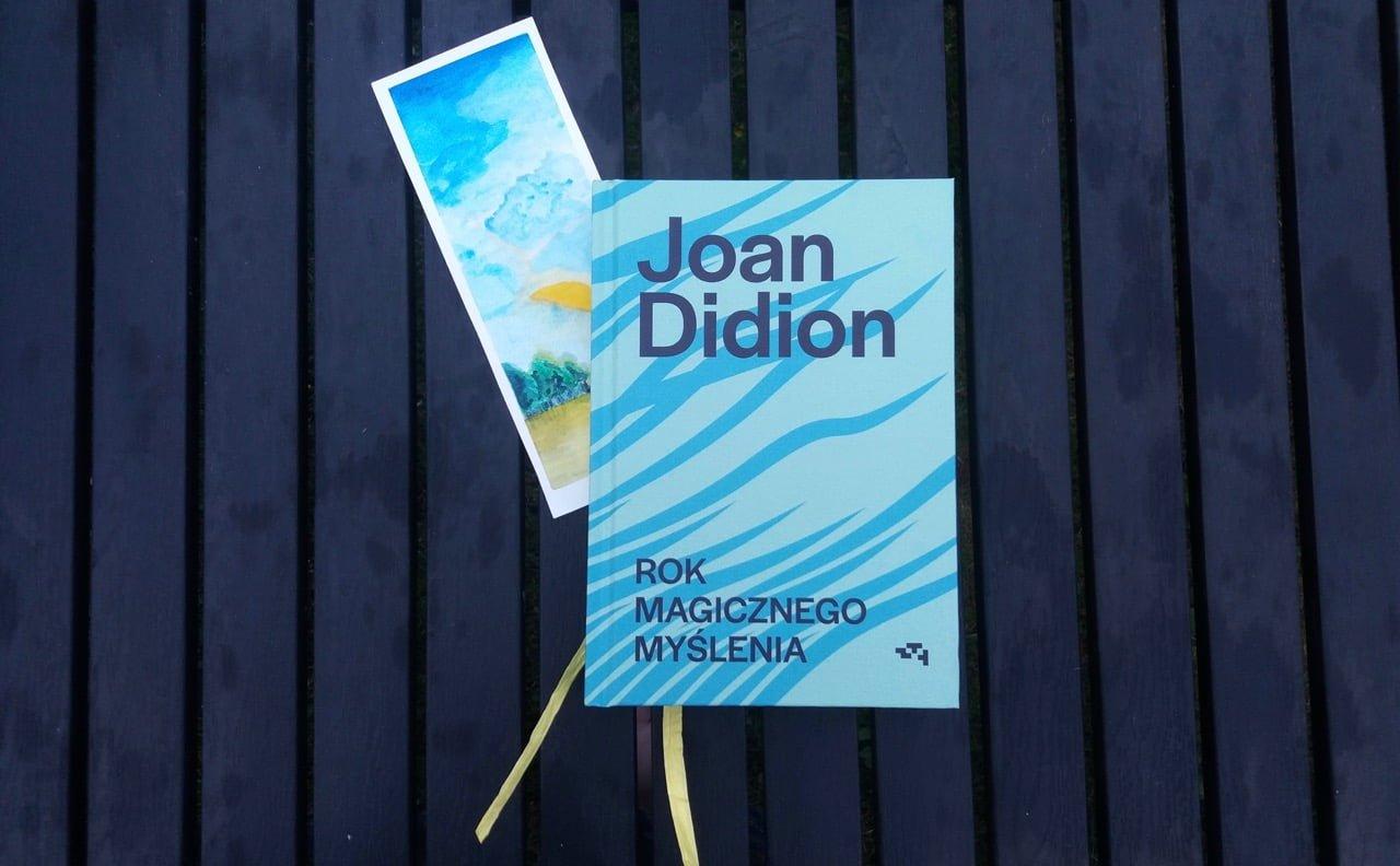 Joan Didion Rok Magicznego Mysłenia Okładka